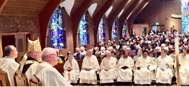 Cardinal Sean O'Malley celebrated World Mission Sunday at Our Lady's Parish On October 21, 2018