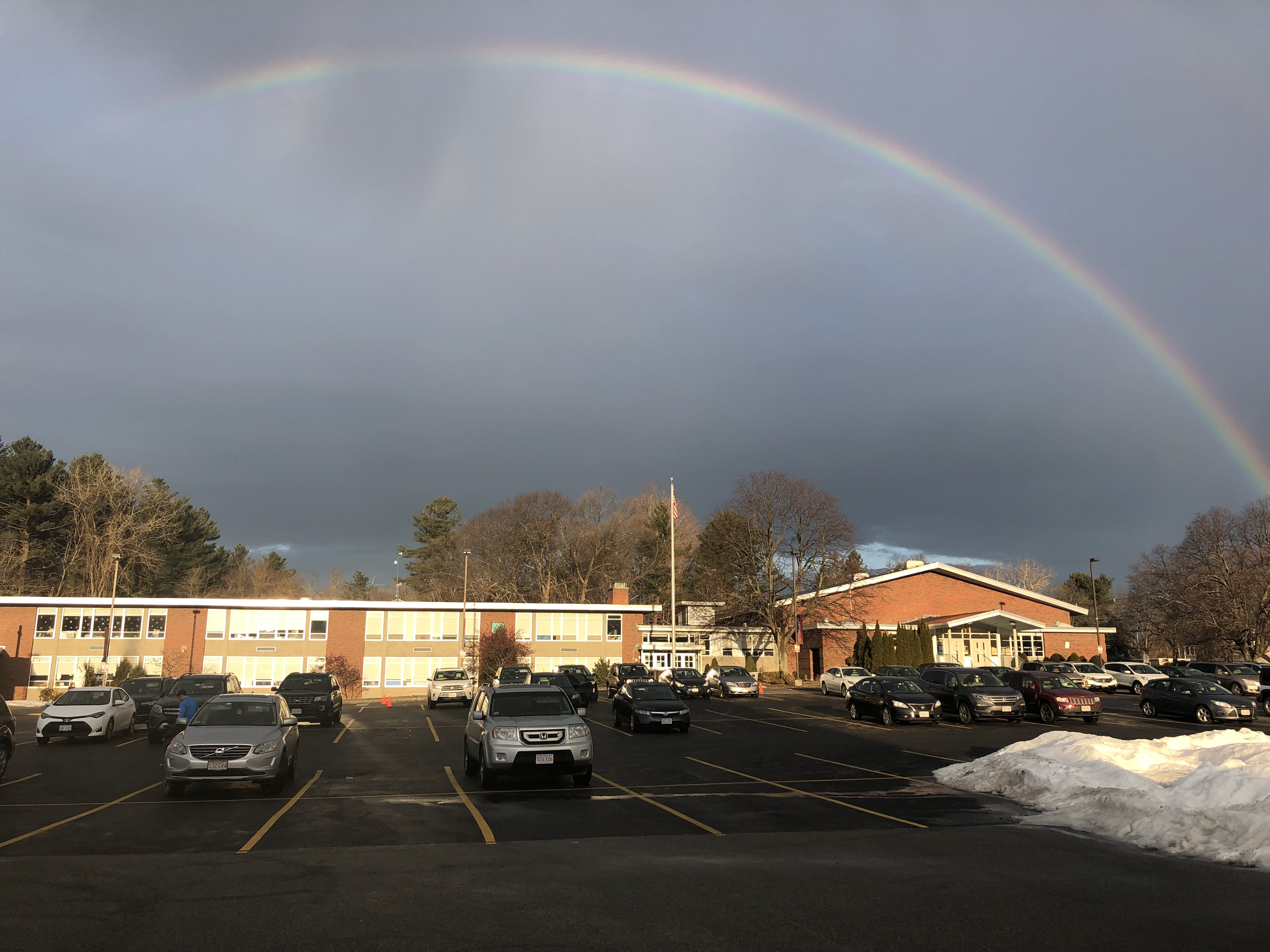 Feb 4, 2019 - Start of school with a Rainbow