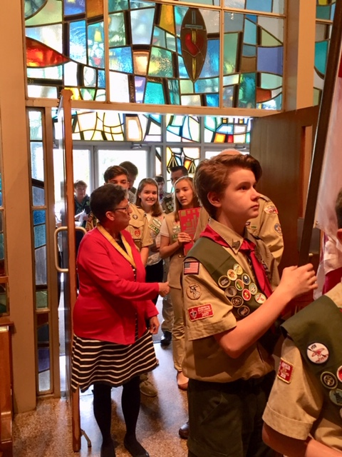 Scout's Mass @ OLCA On May 19th, 2019.